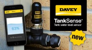 Davey TankSense Tank Water Level Monitoring